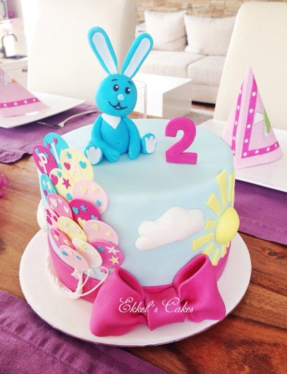 Kikaninchen Birthday CAKE