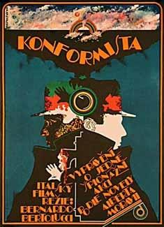 Posteritati: CONFORMIST, THE (Conformista, Il) 1972 Czech 11x16
