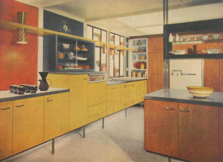 Modern Interior Design Kitchen retro kitchen designs - creditrestore