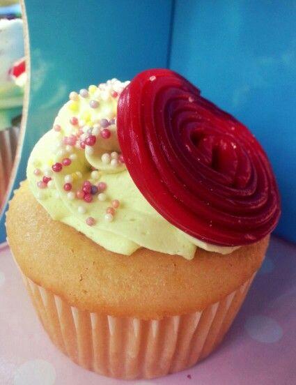 Cupcakes! Vainilla y manjar.