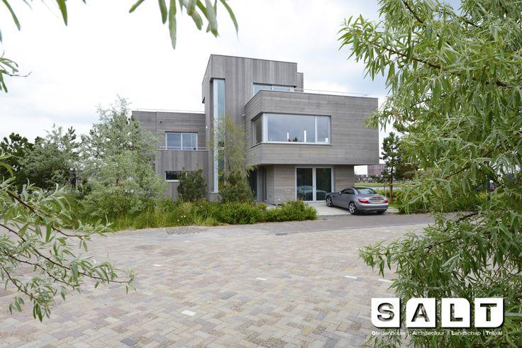 vrijstaande villa te IJburg #amsterdam #architecture #buroSALT #wood #nature