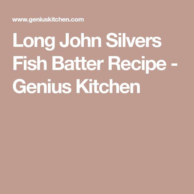 Long John Silvers Fish Batter Recipe - Genius Kitchen