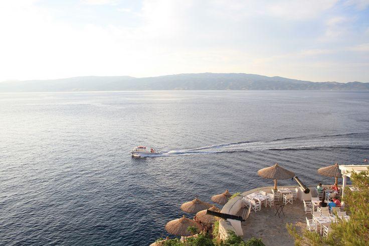 #Hydroneta Beach, #Hydra Island, #Greece. http://www.cycladia.com/travel-guides-greece/hydra-guide-tips/