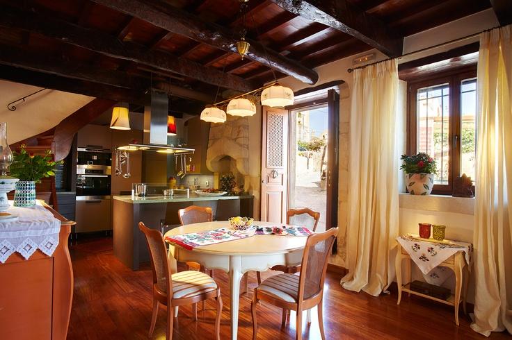 Villa Euphoria Rethymno Crete Kitchen  www.villa-crete.gr/