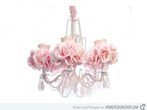 15 Alluring Pink Chandeliers For A S Bedroom