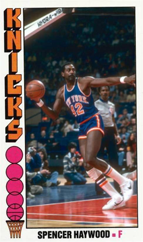 Spencer Haywood New York Knicks