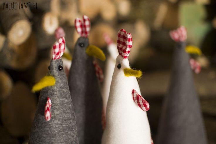 Stylowe kurki zrobione Paluchami :) www.fb.com/pracowniamiskowiec