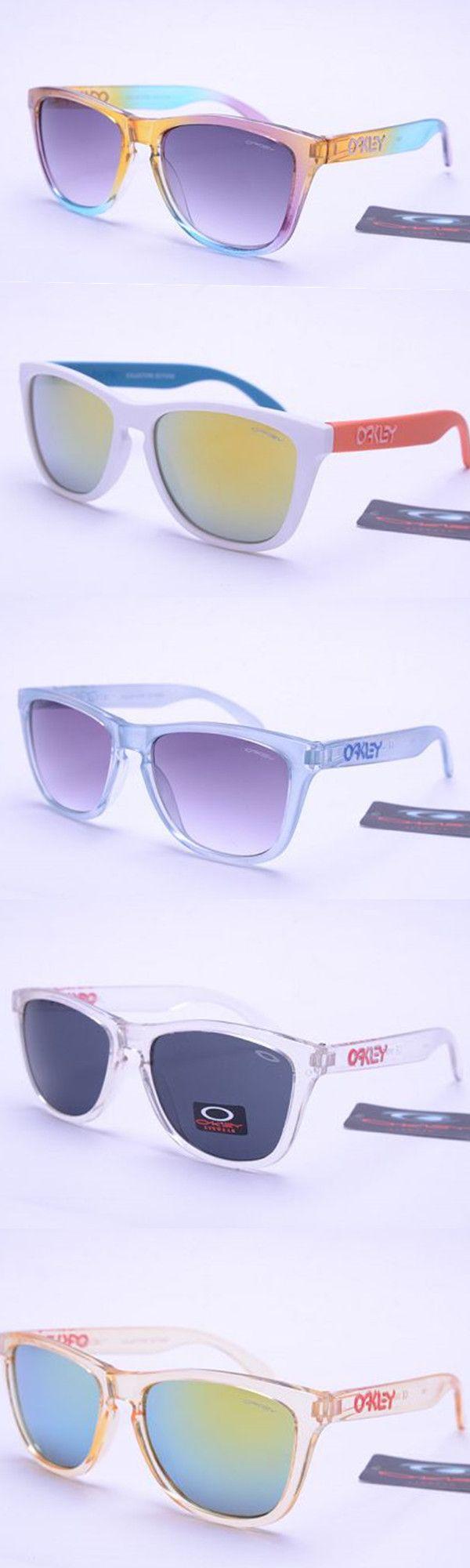oakley sunglasses sale twitter  womens oakley frogskins rainbow multi color sunglasses
