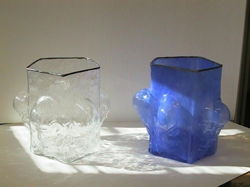 Omat työt/ My works, koristeveisto - Esa Hocksell - Picasa-verkkoalbumit Glass bowls  45cm X 25cm