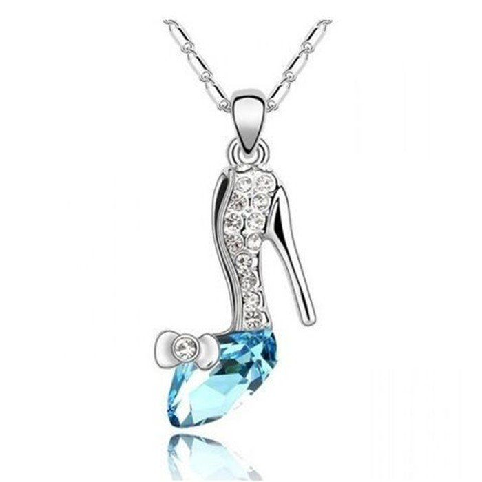 In-Stock and Ships from Toronto - Canada within 24-hours.  100% Money Back Guarantee Just Stunning!  Beautiful Crystal pendant made for all shoe lovers. Make a statement today with this fashionable pendant.   Currently on Discounted price!         Unhappy With Your Product? We'll Take It Back!We stand by our high-quality products and your satisfaction is 100% guaranteed.  Save