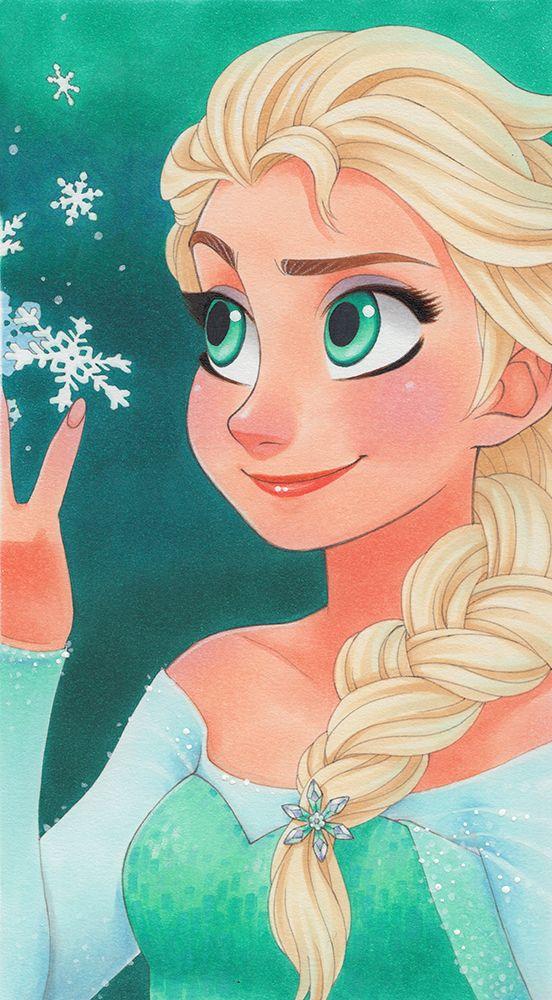 Elsa by SAkURA-JOkER #frozen #disney #fanart