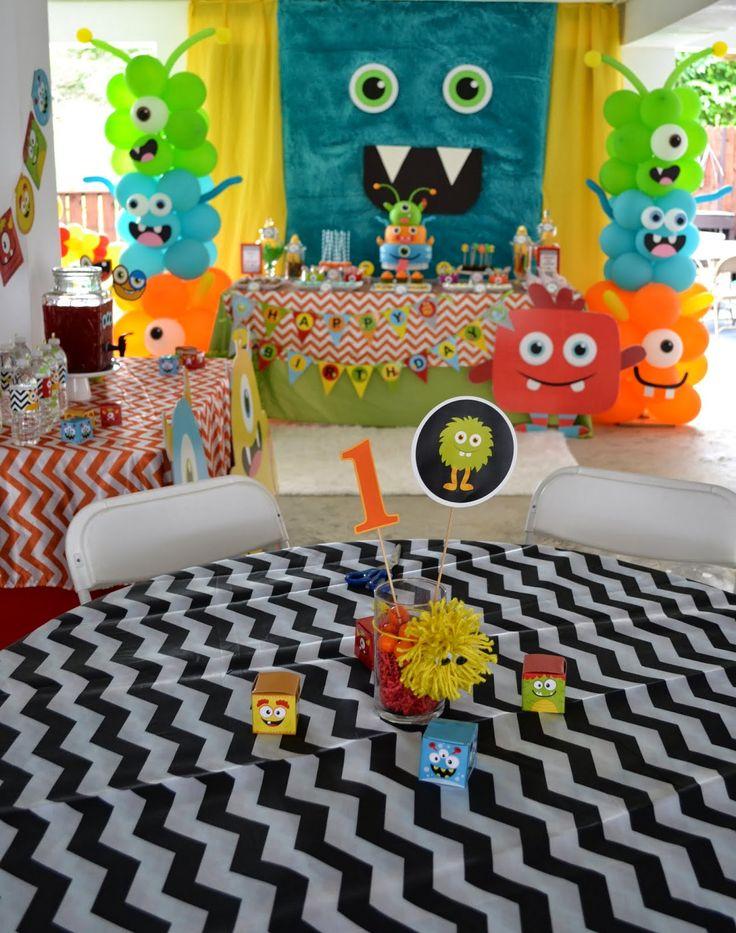 Little Monster Birthday Bash
