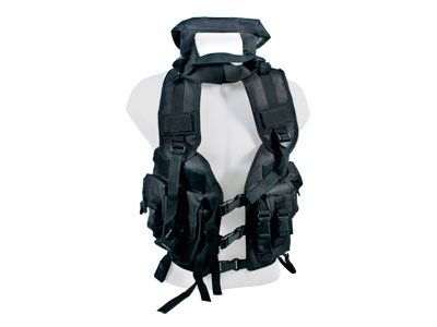 Swiss Arms Combat Tactical Vest Black 4 Pouches For Sale https://besttacticalflashlightreviews.info/swiss-arms-combat-tactical-vest-black-4-pouches-for-sale/