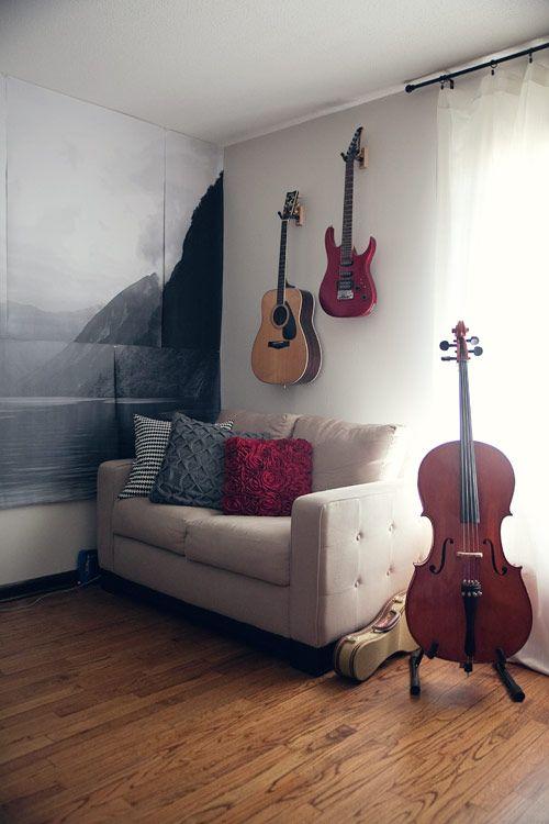 diy photo mural tutorial