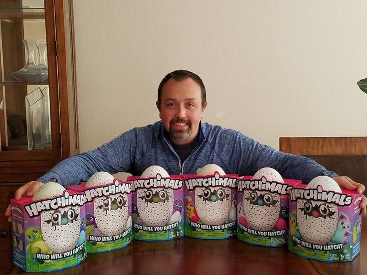 When I found out these Hatchimals were sold out almost worldwide I knew I had to find some so I could give them away.  What you see are 6 Hatchimals that I paid a premium for on Ebay that I am now giving away on social media!