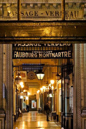 Passage Verdeau, Paris 2e