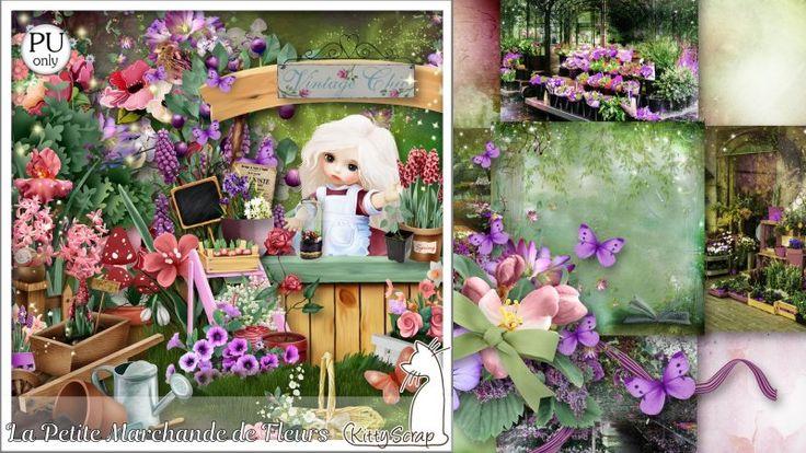 kit la petite marchande de fleurs by kittyscrap