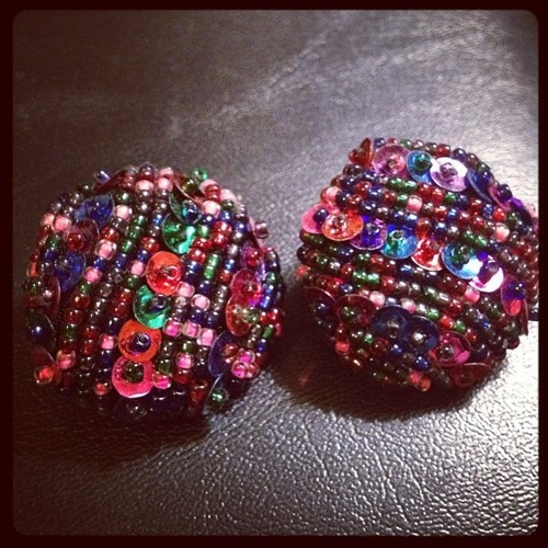 1980s earrings