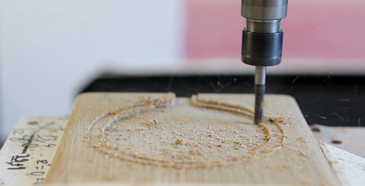 Morty & Pesty- milling a cutting board. Prototyping with a milling machine.