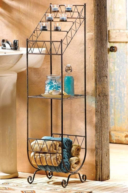 58 best southwest home decor images on pinterest for Bathroom decor with candles