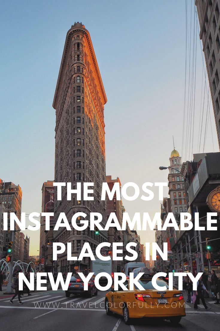 Check Out The Most Instagrammable Places In New York City