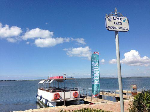 Giro in #battello sulla #Laguna di #Orbetello   TRAVEL'S TALES