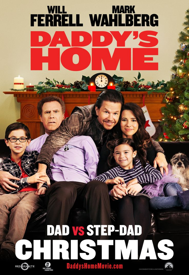 Show dad you care. Take him to watch Daddy's Home in theaters this Friday, Christmas Day.
