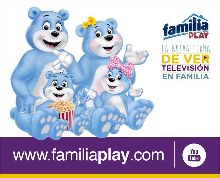 Ingresando a www.familiaplay.com puedes disfrutar de películas y series en familia, accede desde tu smartphone, tableta o Smart TV ¡Es gratis!