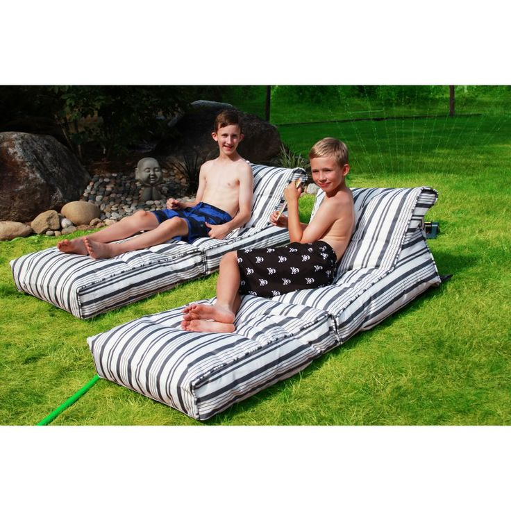 Modern Bean Bag Nautical Bean Bag Lounger