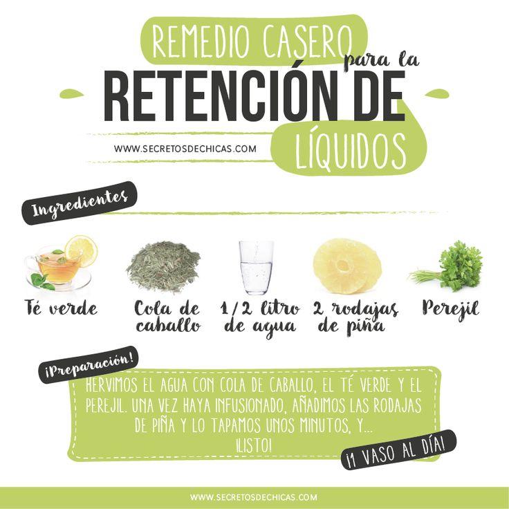 REMEDIO CASERO PARA LA RETENCIÓN DE LÍQUIDOS