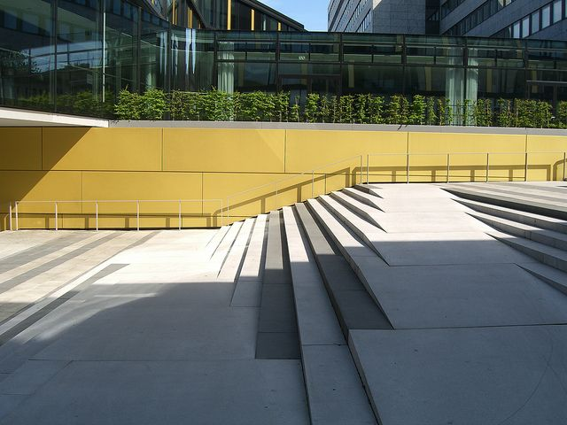 Inclusive blended ramp stairs
