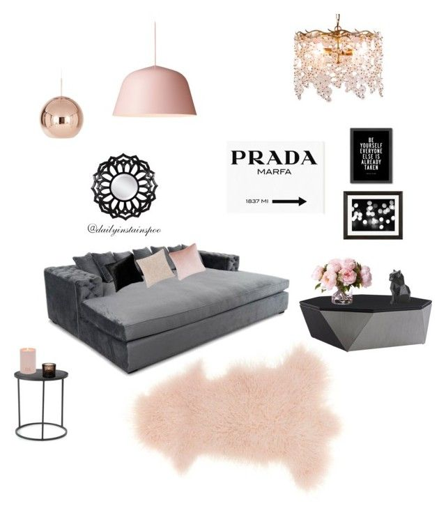 """Untitled #28"" by nikolalazanska on Polyvore featuring interior, interiors, interior design, home, home decor, interior decorating, Mina Victory, BASTARD, Canopy Designs and Tom Dixon"