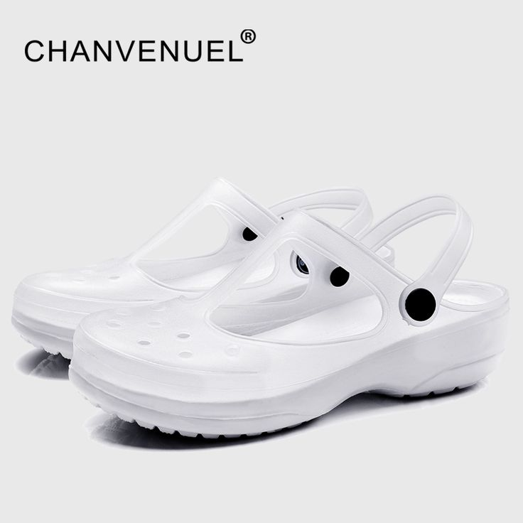 >> Click to Buy << White Shoes For Nurse Summer Women's Garden Clogs Work Nursing Shoes Woman Mules Clogs Women Jelly Shoes  White Color #Affiliate