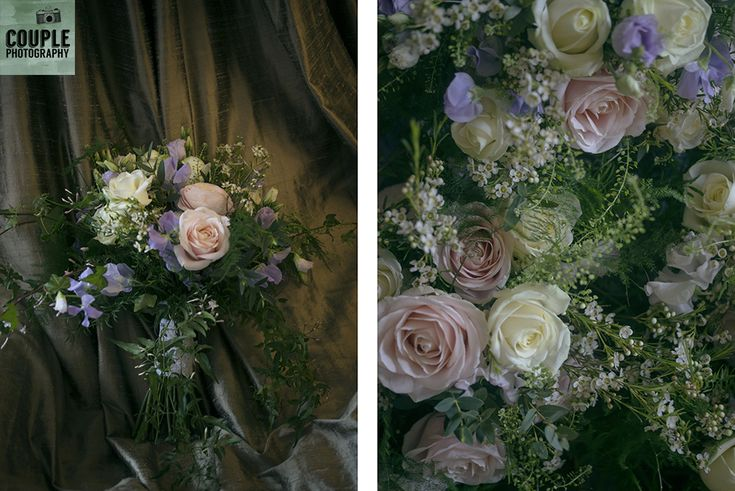 The gorgeous wild bouquet. Weddings at Druids Glen Resort by Couple Photography.
