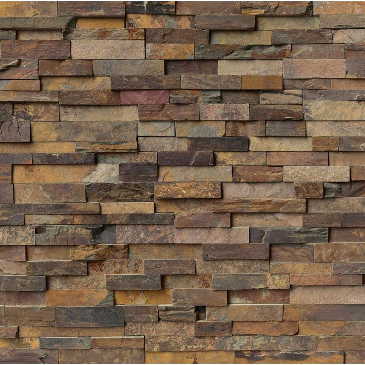 ms international california gold ledger panel 6 in x 24 in natural slate wall tile 5 cases 20 sq ft pallet - Home Decor Tile