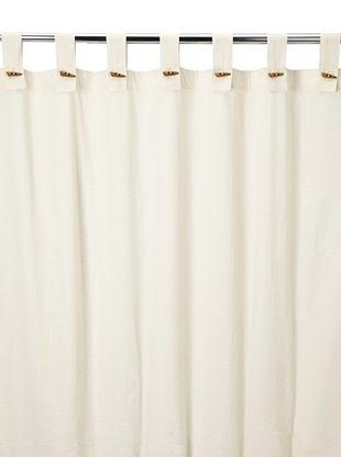49% OFF Coyuchi Seersucker Shower Curtain, Ivory