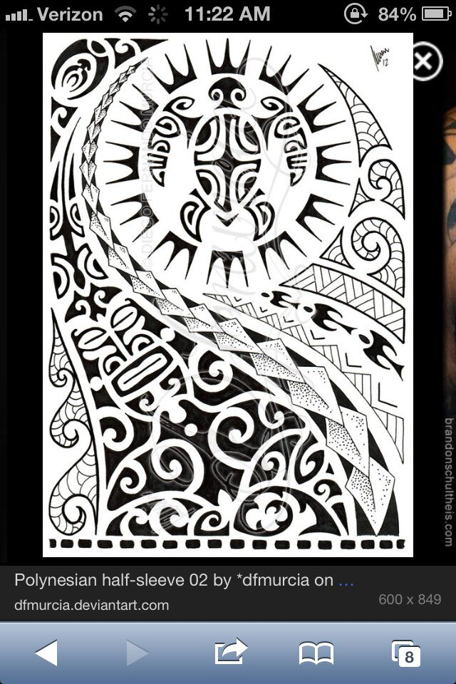 17 Best Images About Polynesian Tattoo Designs On