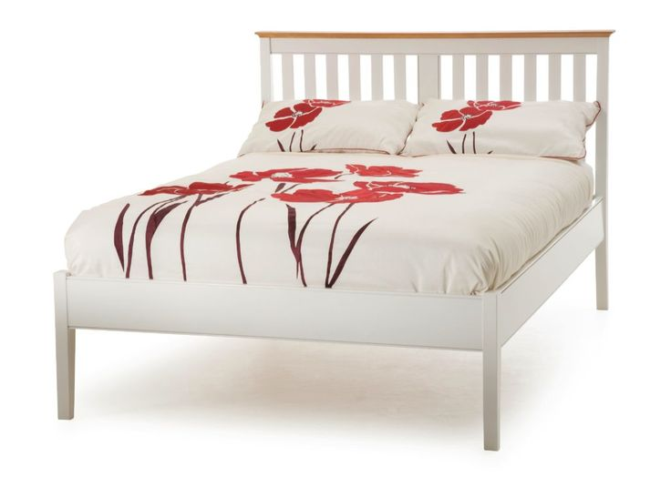 small double bed frame with headboard - Double Size Bed Frame