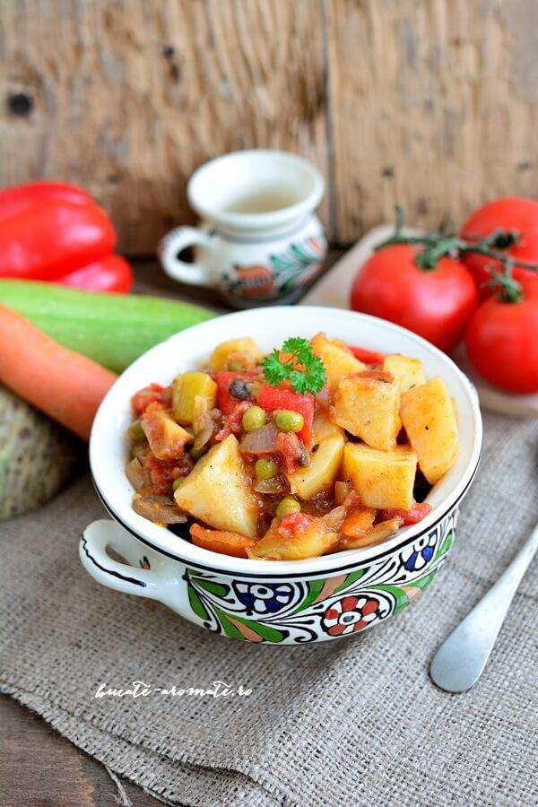 Ghiveci de legume fel de fel - cea mai simplă mâncare de post