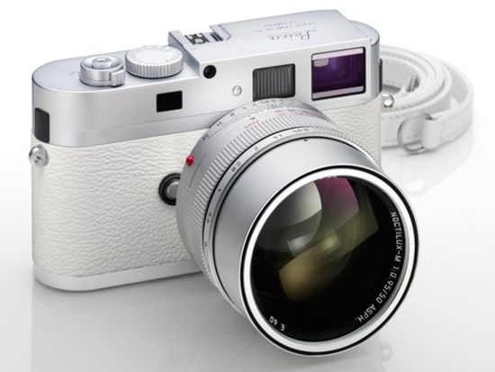 Leica, the legendary German camera maker has just announced a very limited edition white M9-P digital camera. Only 50 total will be available worldwide.