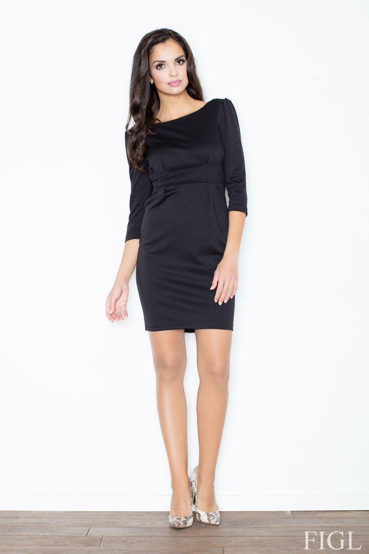 Krásne elegantné šaty s nádhernou chrbtovou časťou, ktorá pritiahne nie jeden pohľad. Kvalitný pevný úpletovýmateriál a vhodne zvolené strihové riešenie dovoľuje šaty obliekať cez hlavu, nie sú vybavené zapínaním. Jednoducho pohoda a štýl v jednom:-) Tieto šaty opísať je v skutku radosť - JEDNODUCHOSŤ, ELEGANCIA, NOBLESA. Jednoduché veci sú geniálne a na tieto šaty to platí dvojnásobne.  Dodacia doba cca 10 pracovných dní.Veľkostné tabuľky