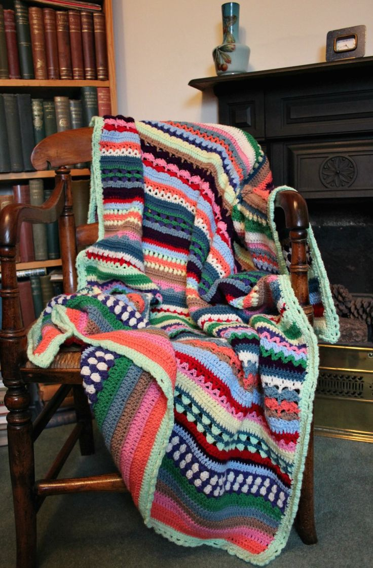 Started three Sundays ago, I sewed in the last end of the Spice of Life blanket on Saturday night. I didn't know where this blanket would end up for the first few days of making. Then all of …