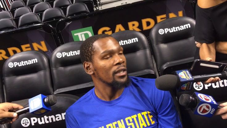Kevin Durant on OKC: 'That blue is going to be in my blood forever'
