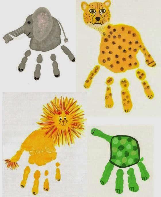 Entre Biberons e Batons: Mãos animalescas