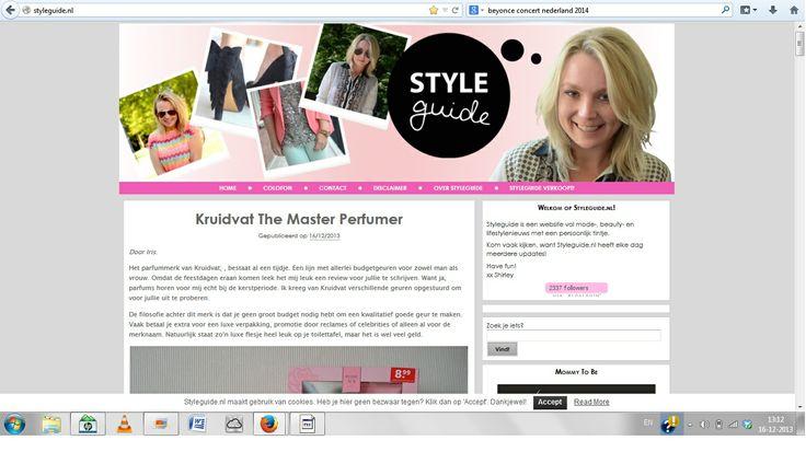 Melika - Styleguide Sterk: persoonlijke header Zwak: kleurgebruik