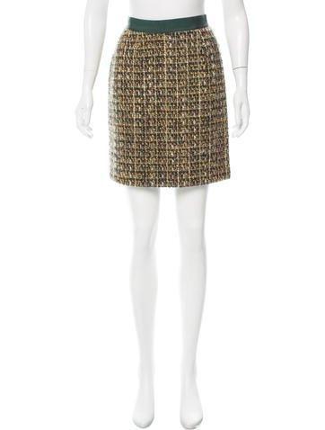 #The RealReal - #kate spade new york Kate Spade New York Wool Tweed Skirt - AdoreWe.com