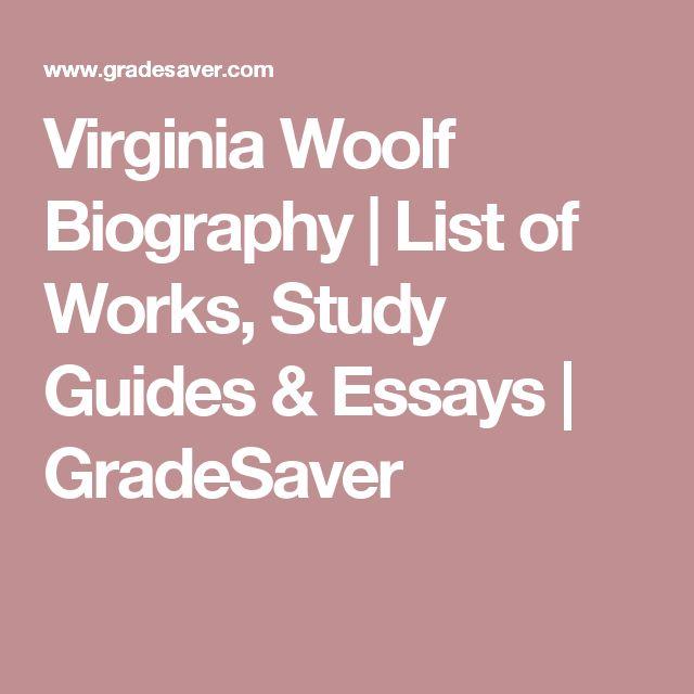 flush virginia woolf online essays