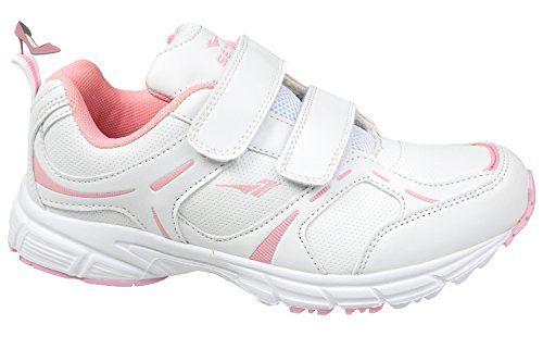 gibra , Baskets pour femme - blanc - blanc/rose, - Chaussures gibra (*Partner-Link)