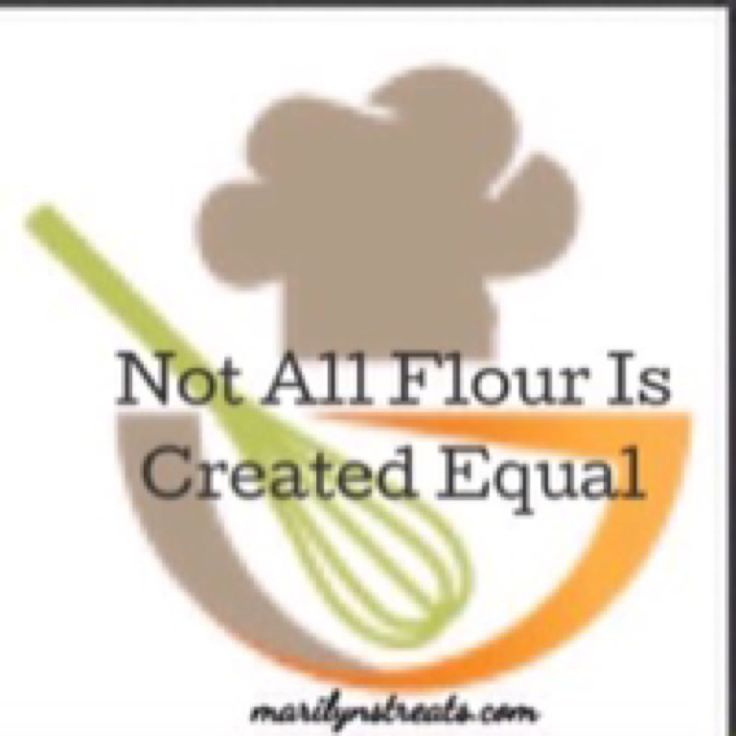 It's Tip Friday on Marilyn's Treats. Learn why Not All Flour Is Created Equal. Be confident you know how to choose the right flour. #tipfriday   via @marilynlesniak