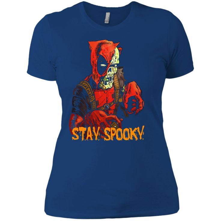 Deadpool Halloween T shirts Stay Spooky Hoodies Sweatshirts